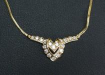 「ダイヤモンドネックレス買取りました」