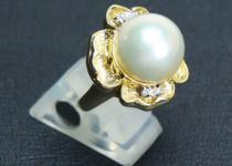 「パール 真珠 指輪 買取りました」