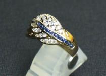 「サファイヤ ダイヤモンド 指輪 買取りました」