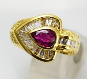 ルビー ダイヤ 指輪