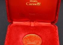 「カナダ メープルリーフ 金貨 買取りました」