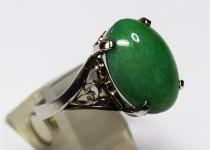 「翡翠 ヒスイ 指輪 買取りました」