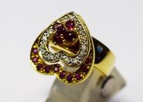 「ルビー・ダイヤモンド 指輪 買取りました」