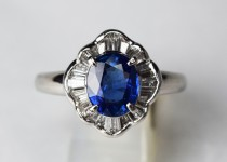「サファイア ダイヤモンド 指輪 宝石 買取りました」