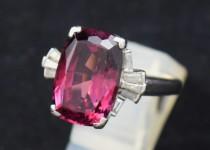 「ロードライトガーネット 指輪 宝石 買取りました」