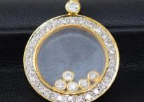 「ペンダントトップ ダイヤモンド 宝石 買取りました」