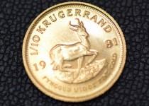 「クルーガーランド金貨 コイン 買取りました」