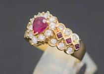 「ルビー ダイヤモンド 指輪 買取りました」