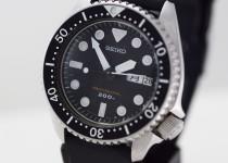 「セイコー ダイバー 腕時計 買取りました」