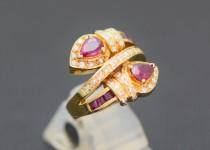 「ルビー 宝石 指輪 買取りました」