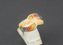 「色石 宝石 指輪 買取りました」
