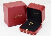 「カルティエ 指輪 買取りました」