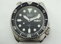 「セイコー ダイバーズ 腕時計 買取りました」