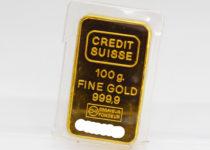 「金 インゴット CREDIT SUISS ゴールドバー 買取りました」