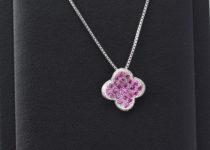 「ルビー ダイヤモンド ネックレス 宝石 買取りました」