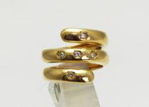 「K18 ダイヤモンド 指輪 宝石 買取りました」