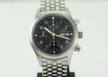 「IWC インターナショナル フリーガークロノ 腕時計 買取りました」