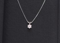 「ダイヤモンド プチネックレス 宝石 買取りました」
