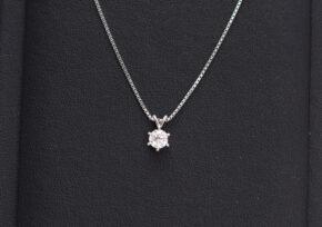 ダイヤモンド プチネックレス
