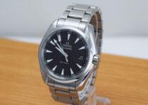 「オメガ シーマスター アクアテラ 150M 腕時計 買取りました」