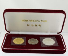 天皇陛下御在位六十年 10万円金貨
