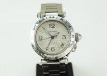 「カルティエ パシャC 腕時計 買取りました」