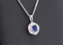「サファイア ダイヤモンド ネックレス 宝石 買取りました」