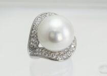 「パール 真珠 ダイヤモンド 指輪 宝石 買取りました」