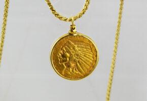インディアンコイン ネックレス