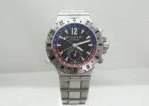 「ブルガリ ディアゴノ プロフェッショナル GMT 腕時計 買取りました」