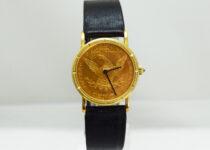 「コルム コインウォッチ 腕時計 買取りました」