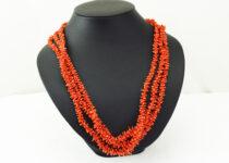 「珊瑚 サンゴ さんご ネックレス 宝石 買取りました」